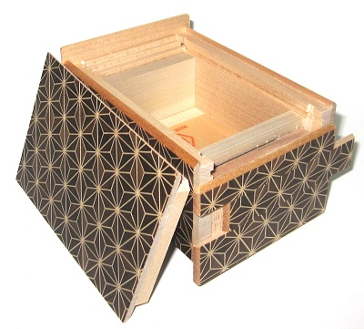 4 Sun 21 Step Japanese Puzzle Box