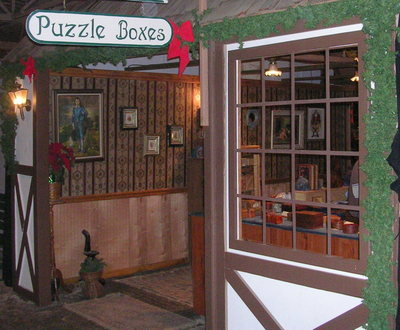 Puzzle Boxes at Dickens Fair