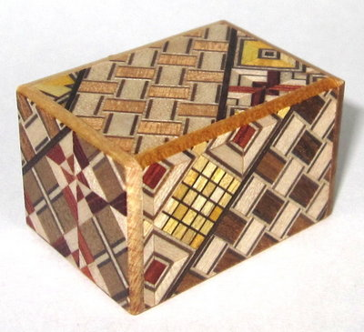 Mame 14 Step Japanese Puzzle Box