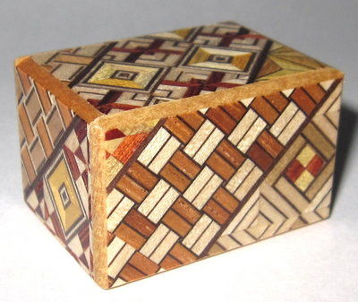 Mame 4 Step Japanese Puzzle Box
